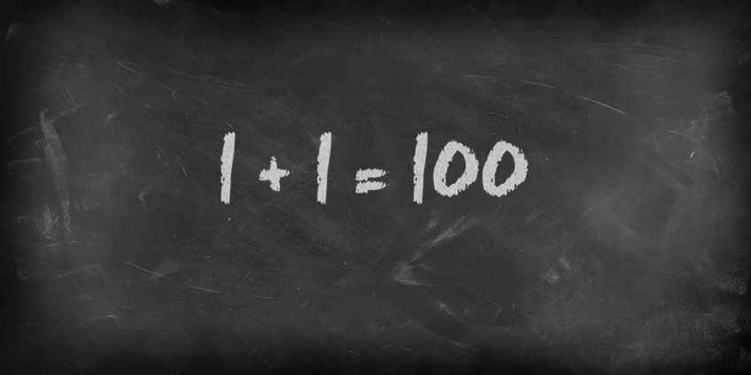 Capital Campaigns Work Best When 1 Plus 1 Equals 100