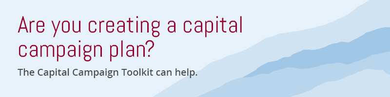 Apply for a free strategy session today for help creating your capital campaign plan