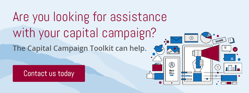 Contact the Capital Campaign Toolkit today for help with your campaign