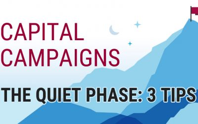 Capital Campaign Quiet Phase: 3 Tips for a Successful Start