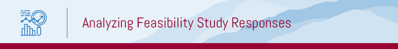 This is how you can analyze capital campaign feasibility study responses.