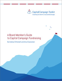 A Board Member's Guide to Capital Campaign Fundraising