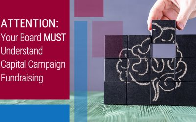 ATTENTION: Your Board MUST Understand Capital Campaign Fundraising